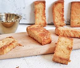 炼乳蜜糖面包干的做法