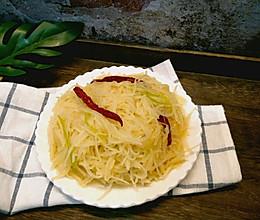 醋溜土豆丝#做道懒人菜,轻松享假期#的做法