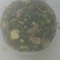 韭菜台鸡蛋炒肉