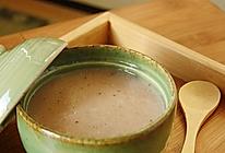 红枣莲子米浆的做法