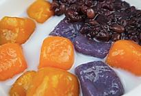 手工自制Q弹爽滑的红豆芋圆的做法