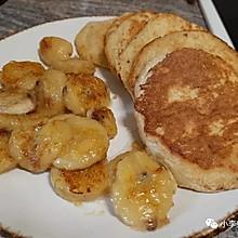 香蕉燕麦煎饼