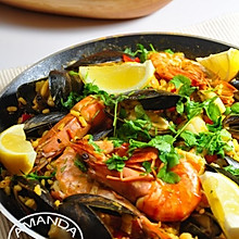 西班牙海鲜饭 Seafood Paella