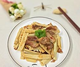 春笋炒肉片的做法