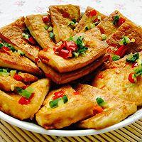 吃货必须要学会的--香煎黄金豆腐的做法图解11