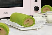 乳糖不耐受体质吃货必选—抹茶栗子蛋糕卷的做法