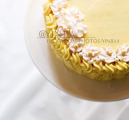 百香果奶油蛋糕