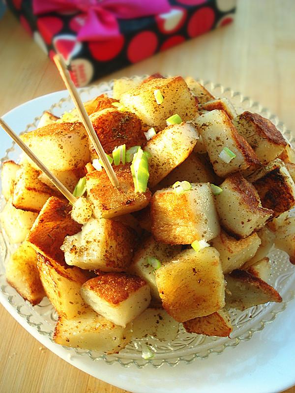 电饼铛锅巴土豆的做法