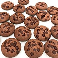 趣多多巧克力豆曲奇餅干【77分享】的做法圖解11
