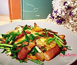 川式腊肉土豆片的做法