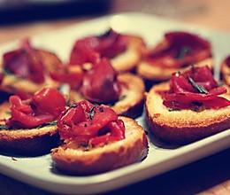自制西班牙小吃Tapas,美味的西班牙火腿的做法