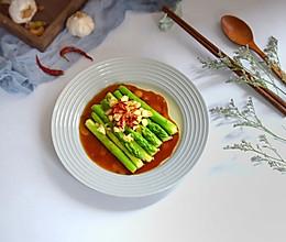 鲜味蚝油芦笋的做法
