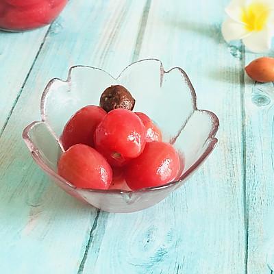 话梅渍小蕃茄