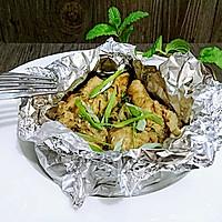 不用洗碗的锡纸盐焗鸡腿【烤箱懒人菜】蜜桃爱营养师私厨的做法图解9