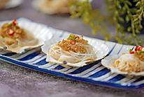 小羽私厨之蒜蓉粉丝蒸扇贝的做法