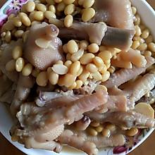 黄豆炆鸡脚