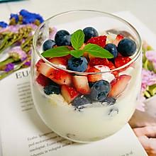 自制低脂水果燕麦酸奶