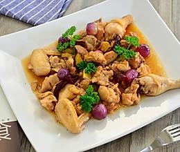 粤菜-红葱头蒸鸡的做法