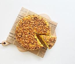 宝宝辅食·南瓜肉松蒸蛋糕的做法