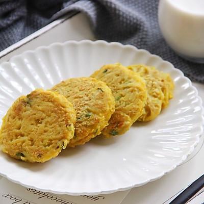 鸡蛋燕麦土豆饼