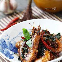 台式三杯虾