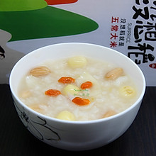 莲子百合粥