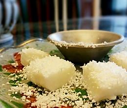 椰奶冻/椰丝小方『椰味超足 无淡奶油低脂低糖版』的做法