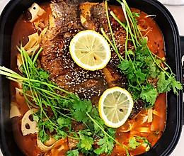 简单易上手、超详细的的秘制烤鱼(电火锅版)的做法