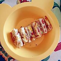 宝宝早餐 鸡蛋火腿蔬菜饼