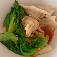 #换着花样吃早餐#「香菇饺子」