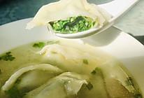 #换着花样吃早餐#上海荠菜大馄饨(上海大馄饨)的做法