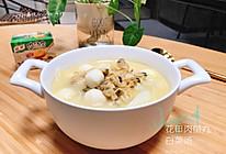 减脂|家乐浓汤宝之花甲肉鱼丸白菜汤的做法