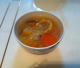 南瓜玉米胡萝卜蜂蜜粥的做法