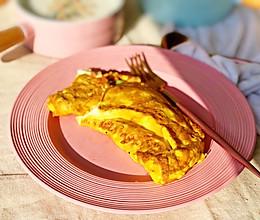 西式早餐蛋饼的做法