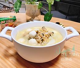 减脂 家乐浓汤宝之花甲肉鱼丸白菜汤的做法