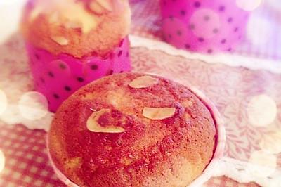 杯子蔓越梅海绵蛋糕
