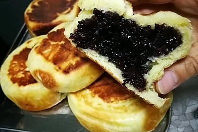 紫米饼~香甜软糯