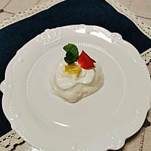 柠檬蛋白冰糕