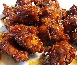 韩国蒜香炸鸡的做法
