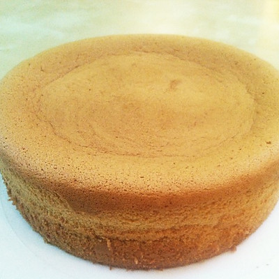 超级完美戚风蛋糕