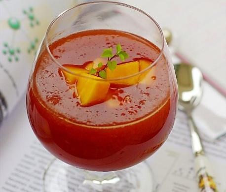 红酒木瓜饮