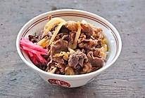 牛丼(日式牛肉饭)的做法