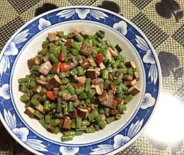 炒豇豆末的做法