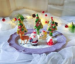 可爱的圣诞树华夫饼的做法