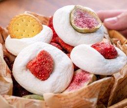 云朵棉花糖,烤一烤变身脆脆饼干~的做法