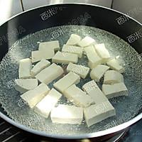 虾仁蛋黄豆腐#德国MIJI爱心菜#的做法图解3