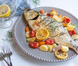 烤杂蔬鲥鱼—老板电器新品蒸烤一体机C906食谱的做法