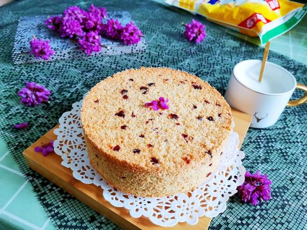 蔓越莓燕麦戚风蛋糕(无油无糖无面粉)