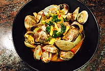 葱姜蒜辣炒蛤蜊的做法