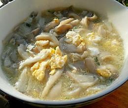 芙蓉白菇汤的做法